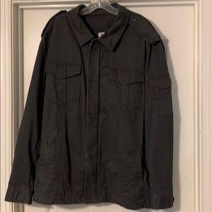 Men's GAP full zip field coat in navy